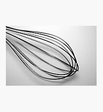 whisk Photographic Print