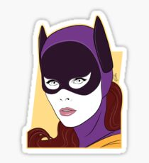 60s Bat Girl - Nagel Style Sticker