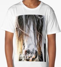 Cool hair, don't care! Long T-Shirt
