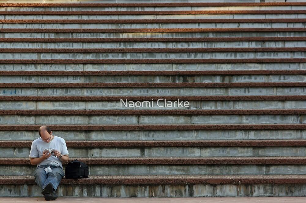 Festival Steps by Naomi Clarke