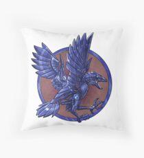 MechRaven House Throw Pillow