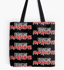 Blood Thirsty Marmots Logo 3 Tote Bag