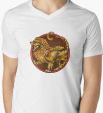 MechLion House V-Neck T-Shirt