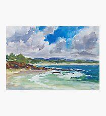 Bartletts Beach 1 - plein air Photographic Print
