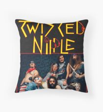 BTM Twisted Nipple Throw Pillow