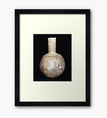 Water Bottle Framed Print
