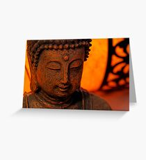 buddhas delight Greeting Card