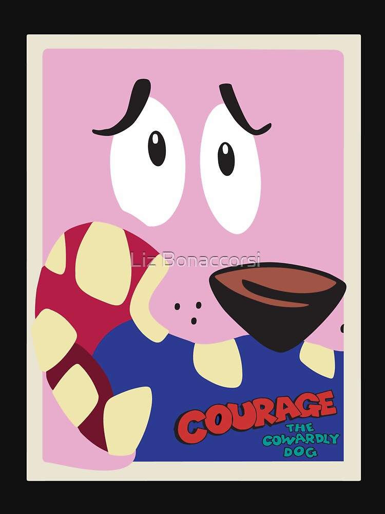 courage the cowardly dog poster