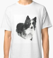 Working Winter Collie Classic T-Shirt