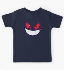 Gengar Monster Purple Pokeball Kids Tee