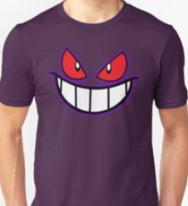 Gengar Monster Purple Pokeball T-Shirt