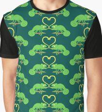 Chameleons Sticky Love Graphic T-Shirt