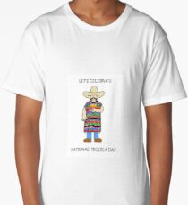 National Tequila Day 24th July Long T-Shirt