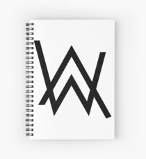 Alan Walker Spiral Notebook