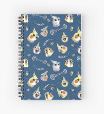 Cockatiel Screm Spiral Notebook