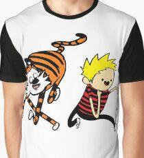 AdventureTime_Calvin&Hobbes Graphic T-Shirt