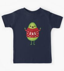 Avo Merry Christmas! Kids Tee