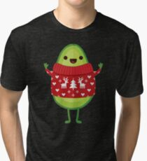 Avo Merry Christmas! Tri-blend T-Shirt