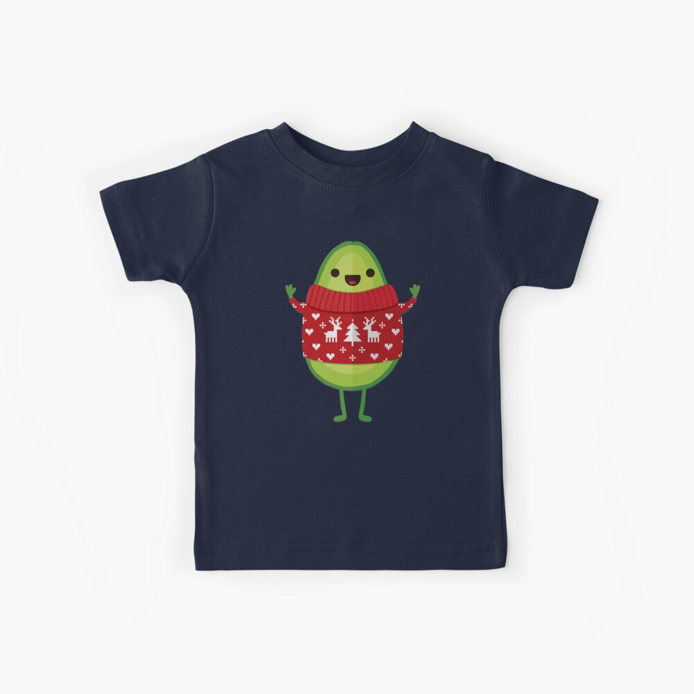 Avo Frohe Weihnachten! Kinder T-Shirt