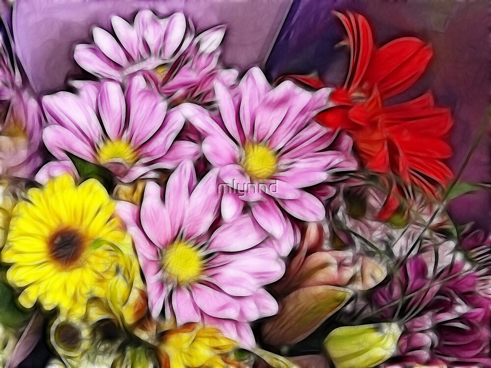 A BOUQUET FOR YOU by mlynnd