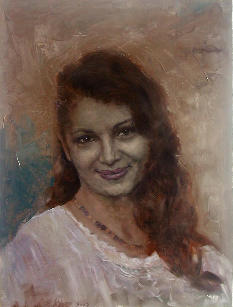 the smile by Demetrios Vlachos