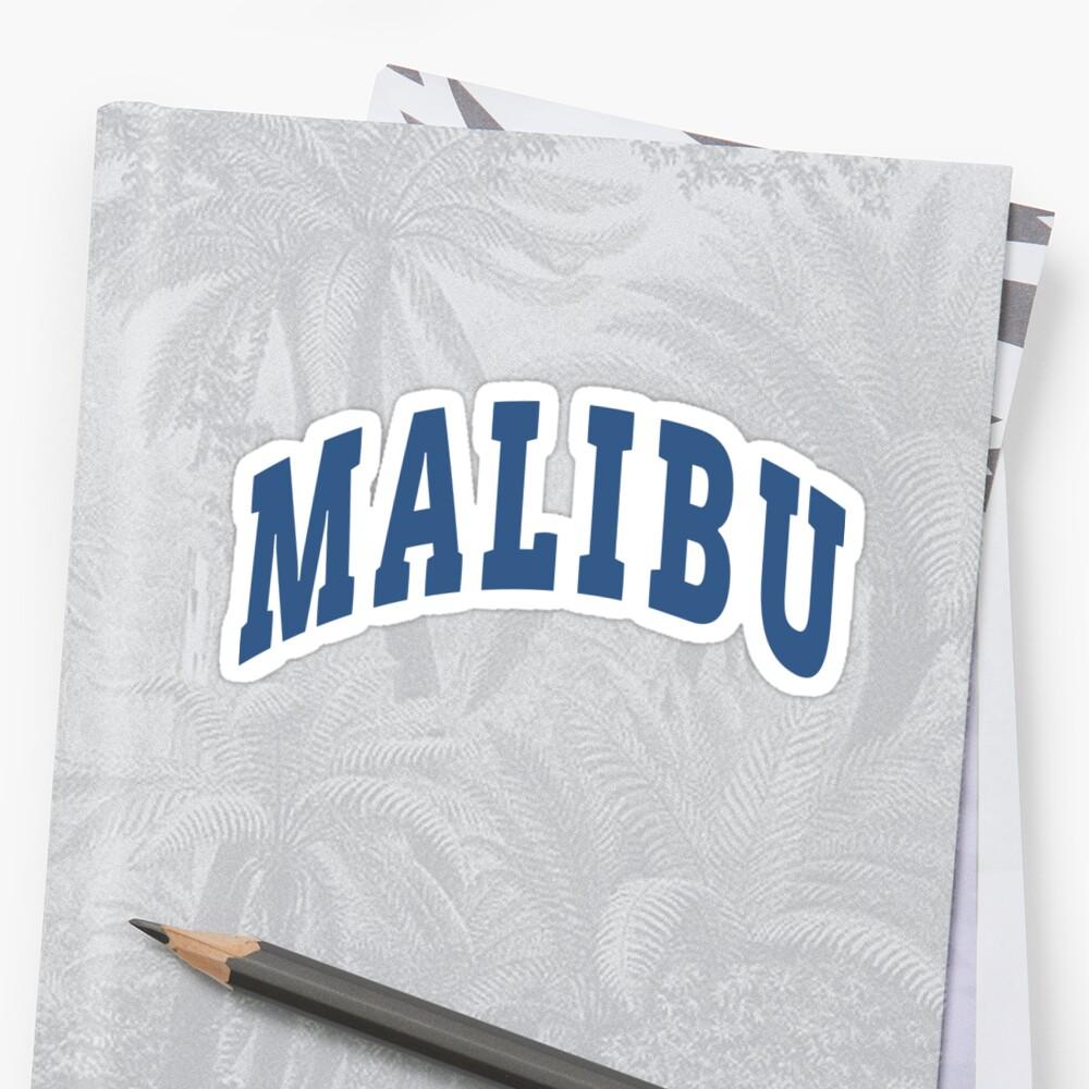 Malibu Capital Pegatina