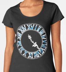 Final Fantasy - Final Hour (blue) Women's Premium T-Shirt