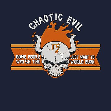 Chaotic Evil Tshirt by KennefRiggles