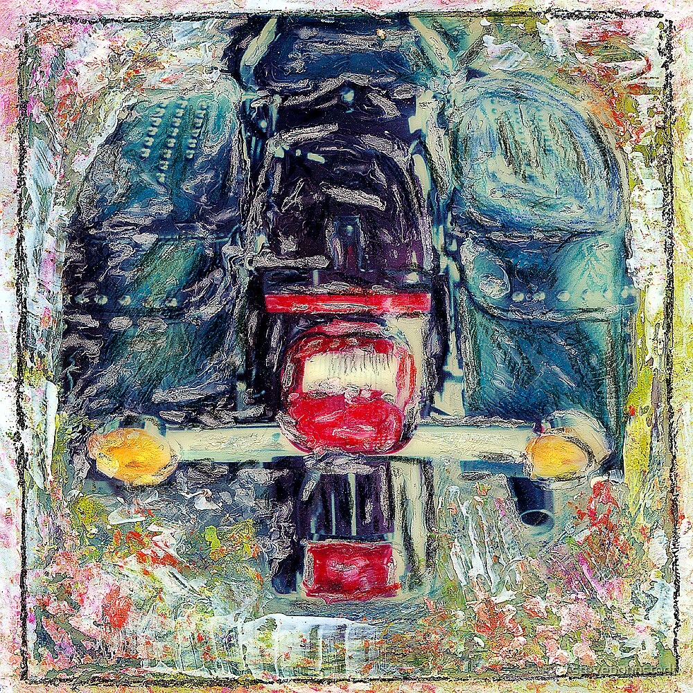 Harley Painted by stevebohnstedt