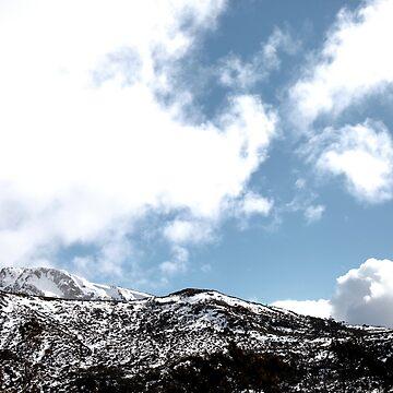 Snowy Mountain by SneaksPrints