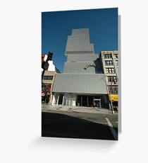 New Museum of Contemporary Art Greeting Card
