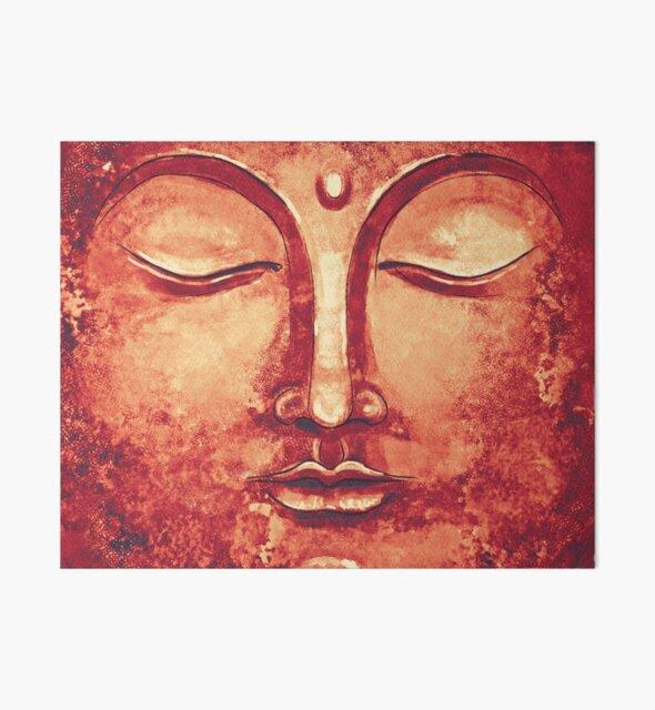 Summer Buddha Face by Thubakabra
