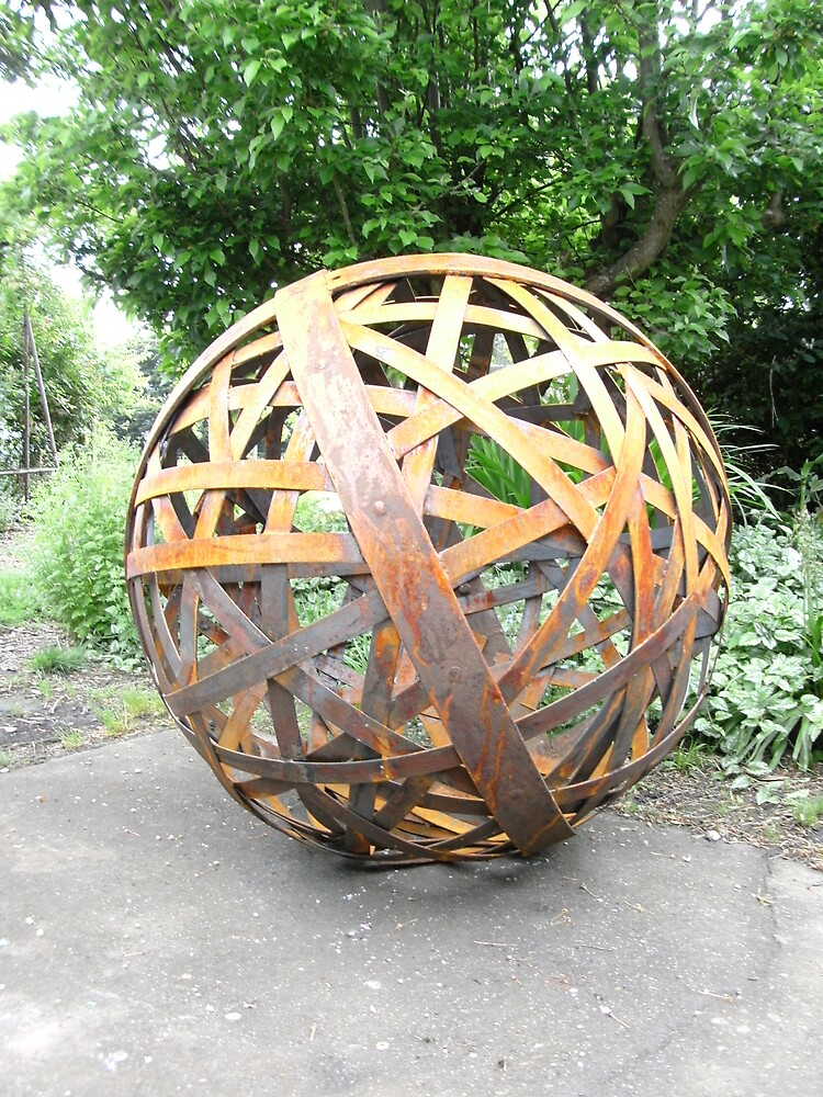 SculptureGarden Orb by John ODal Redbubble