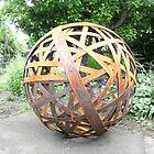 Sculpture/Garden Orb by John O'Dal