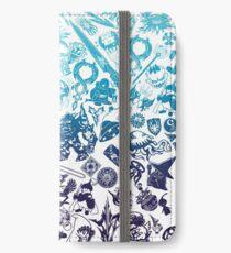Moogle-verse (blue) iPhone Flip-Case/Hülle/Skin