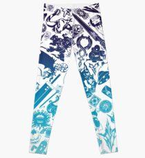Moogle-verse (blue) Leggings