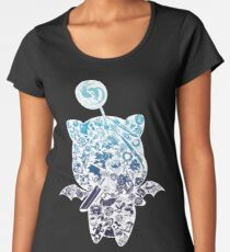 Moogle-verse (blue) Premium Rundhals-Shirt