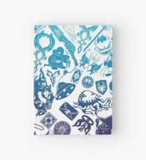 Moogle-verse (blue) Hardcover Journal