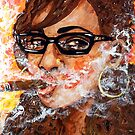 Smoking with specs 4 by amoxes