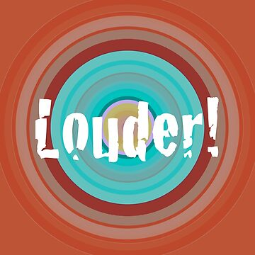 Louder! by illustrateme