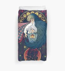 Art of a Moving Castle Duvet Cover