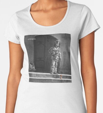 The Silver Vagabond and the Lonely Girl  Premium Scoop T-Shirt