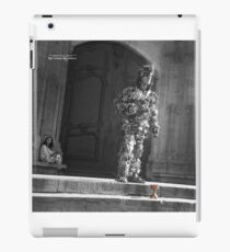 The Silver Vagabond and the Lonely Girl  iPad Case/Skin