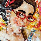Smoking with specs 3 by amoxes