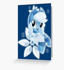 Spirit of Hearth's Warming Past (Applejack) Greeting Card