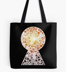Kingdom Hearts - Keyhole (orange) Tote Bag