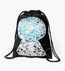 Kingdom Hearts - Keyhole (blue) Drawstring Bag