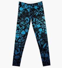 Kingdom Hearts - Keyhole (blue) Leggings