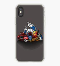 Vinilo o funda para iPhone Anime Monsters