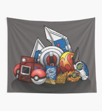 Anime Monsters Wall Tapestry